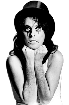 "Alice Cooper ai tempi di ""Welcome to my nightmare"""