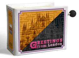 'Greetings from London' musicbox