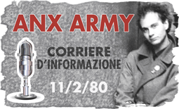 Link intervista ad Anx Army 11/2/80