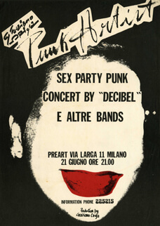 Manifesto Sex Party Punk