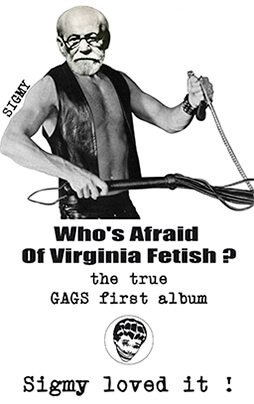 Who's a Freud of Virginia Fetish?